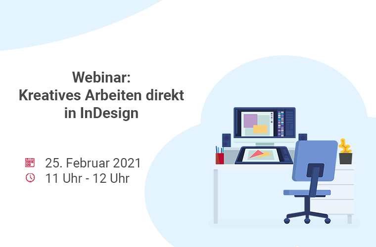 "InBetween Live-Webinar: ""Kreatives Arbeiten direkt in InDesign"""